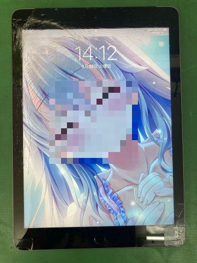 iPad 6th(2018)ガラス割れ ~日出町