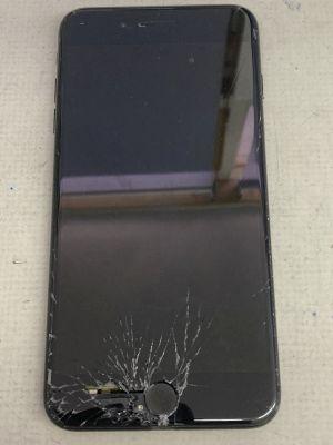 iPhone7Plus画面割れ暗転 ~大分市三佐