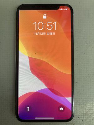 iPhoneX表示故障 ~大分市顕徳町