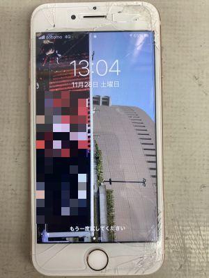 iPhone8画面修理 TT復活~富士見が丘