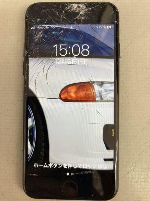 iPhone7画面割れ ~大分市政所