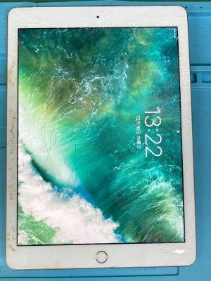 iPad5ガラス割れ ~大分市小池原