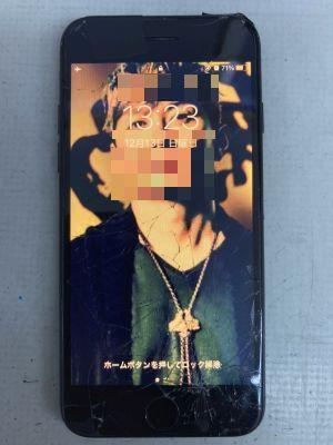 iPhone7ガラス割れ ~大分市新川