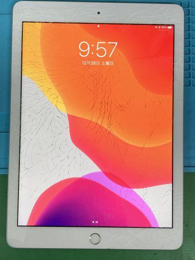 iPad6ガラス割れ ~大分市田室
