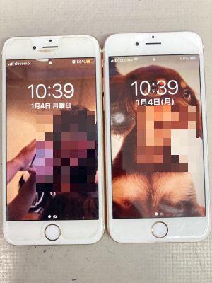 iPhone6s電池交換2台 ~大分市高江