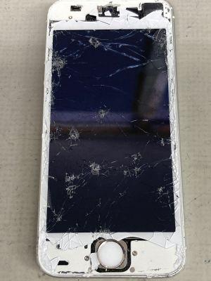 iPhoneSEバイクから落下 ~大分市寿町