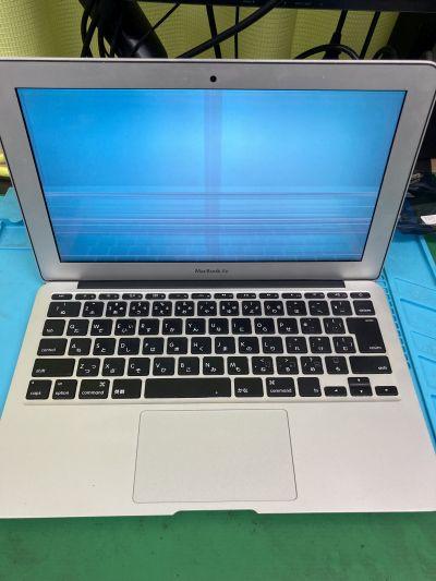 MacBook Air液晶故障 ~大分市中央町