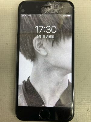 iPhone6s画面割れ ~大分市明野