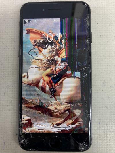 iPhone8液晶割れ ~豊後大野市大野