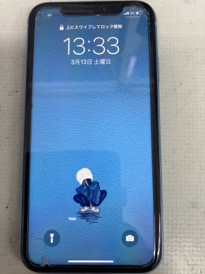 iPhoneXRカメラ故障 ~大分市猪野