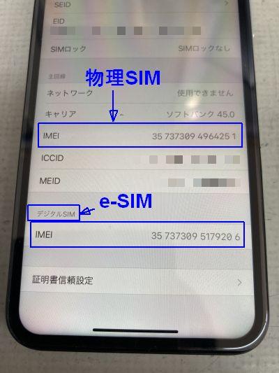 iPhoneデュアルSIM化