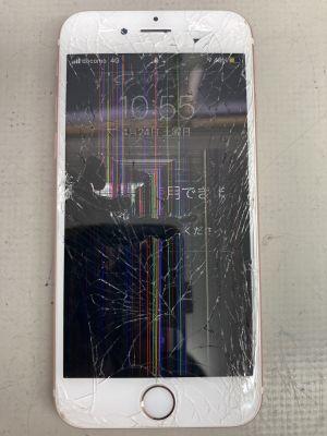 バリ割れiPhone6s ~大分市三佐