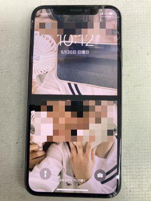 iPhoneXs3箇所修理 ~大分市三佐