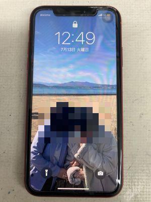 一部タッチ不能iPhoneXR ~大分市高城南