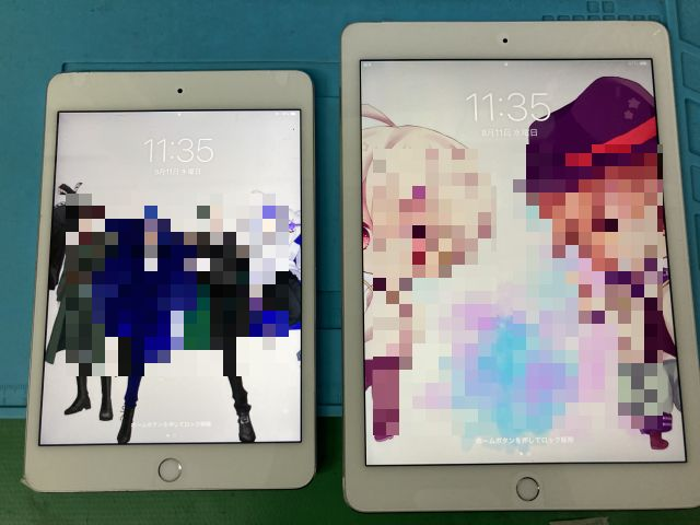 iPad mini4,Air2電池交換 ~臼杵市
