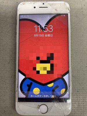 まだ活けます!iPhone6s修理 ~大分市大手町