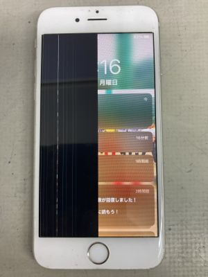 iPhone6s画面半分が黒 ~大分市佐賀関