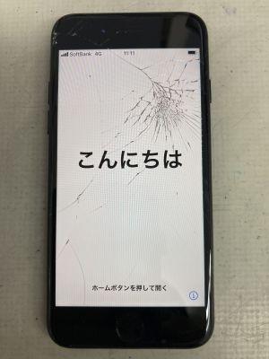 iPhone7修理初期化不要 ~大分市明野